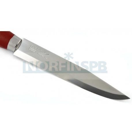 Нож Morakniv Classic №3, углеродистая сталь, рукоять из березы, красного цвета