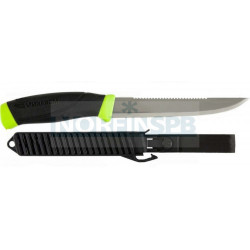 Нож Morakniv Fishing Comfort Scaler 150 разделочный филейный, нержавеющая сталь, прорезиненная ручка