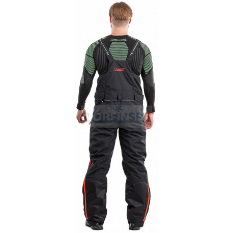 Зимние штаны мужские DragonFly Sport 2019 Black-Red