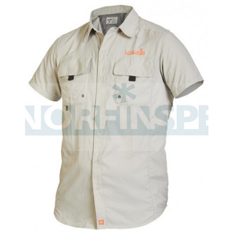Рубашка Norfin FOCUS SHORT SLEEVES GRAY