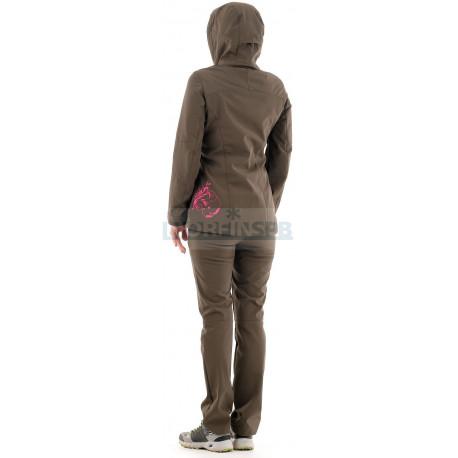 Женский костюм Novatex Медея (софт-шелл, хаки)