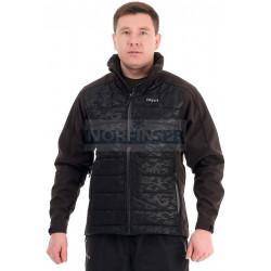 Куртка Novatex Рига (таслан, черный кмф)