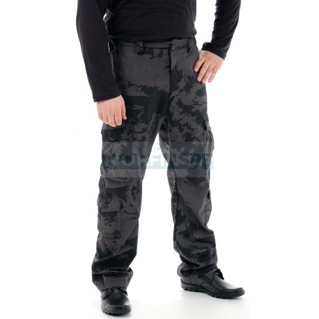 Брюки Novatex Нато, рип-стоп черный камо